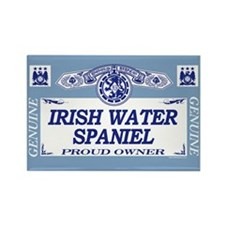 IRISH WATER SPANIEL Rectangle Magnet (10 pack)