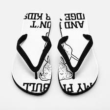 Cute I love life Flip Flops