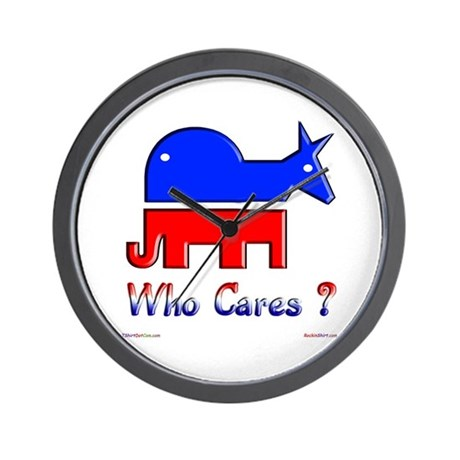 Who Cares ? Wall Clock