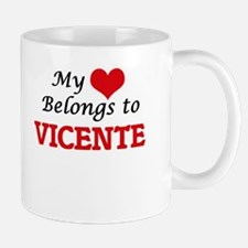 My heart belongs to Vicente Mugs