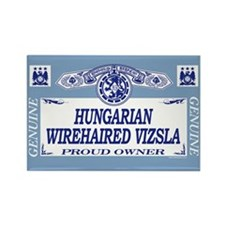 HUNGARIAN WIREHAIRED VIZSLA Rectangle Magnet (10 p