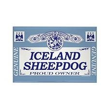 ICELAND SHEEPDOG Rectangle Magnet