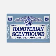 HANOVERIAN SCENTHOUND Rectangle Magnet