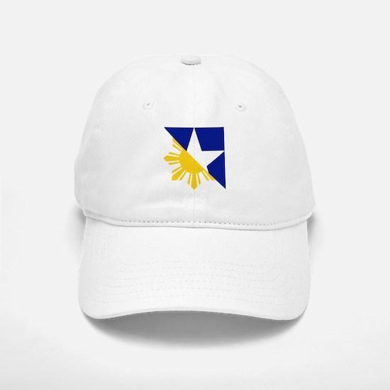FilAm Flag Elements Baseball Cap
