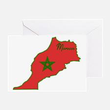 Cool Morocco Greeting Card