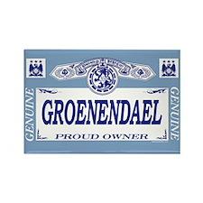 GROENENDAEL Rectangle Magnet (10 pack)
