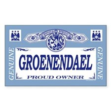 GROENENDAEL Rectangle Decal
