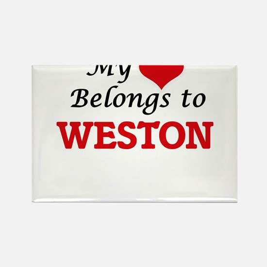 My heart belongs to Weston Magnets