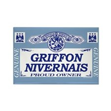 GRIFFON NIVERNAIS Rectangle Magnet