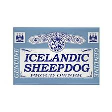 ICELANDIC SHEEPDOG Rectangle Magnet