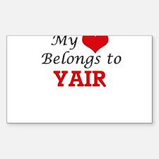 My heart belongs to Yair Decal