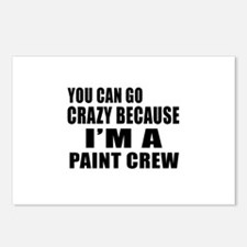 I Am Paint Crew Postcards (Package of 8)