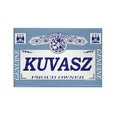 KUVASZ Rectangle Magnet (10 pack)