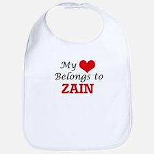 My heart belongs to Zain Bib