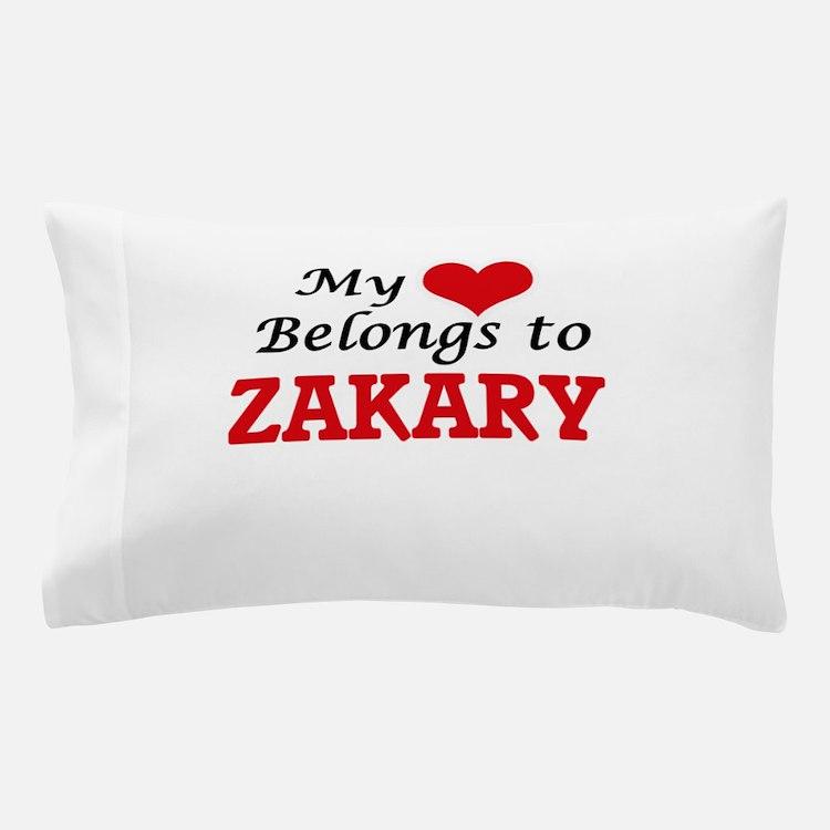 My heart belongs to Zakary Pillow Case