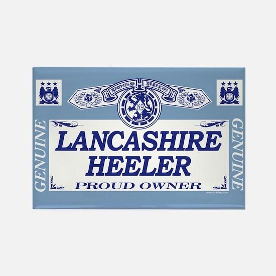 LANCASHIRE HEELER Rectangle Magnet (10 pack)