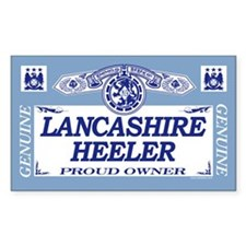 LANCASHIRE HEELER Rectangle Decal