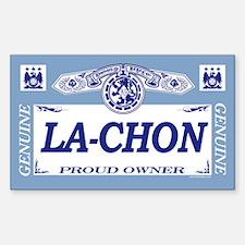 LA-CHON Rectangle Decal