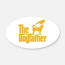 Cute Dogs sale Oval Car Magnet