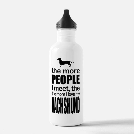 Funny Obama dog Water Bottle