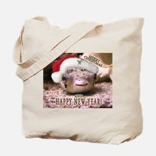 Helaine's Xmas Blowfish Tote Bag