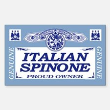 ITALIAN SPINONE Rectangle Decal