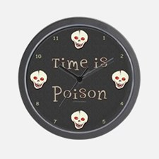 Time is Poison Wall Clock