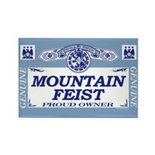 MOUNTAIN FEIST Rectangle Magnet