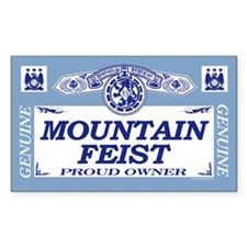 MOUNTAIN FEIST Rectangle Decal