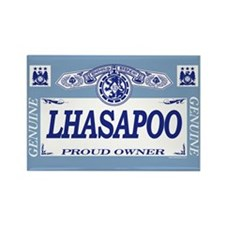 LHASAPOO Rectangle Magnet