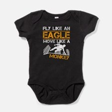 Parkour - Fly Like An Eagle Baby Bodysuit