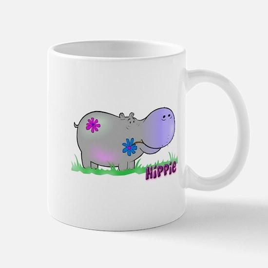 Hippie Hippo Mug