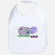 Hippie Hippo Bib