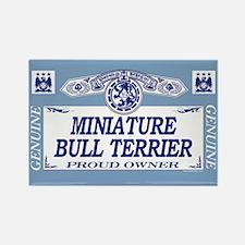 MINIATURE BULL TERRIER Rectangle Magnet (100 pack)