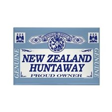 NEW ZEALAND HUNTAWAY Rectangle Magnet