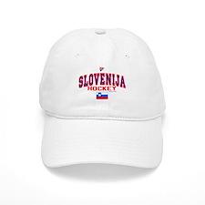 SI Slovenija(Slovenia) Hockey Baseball Cap