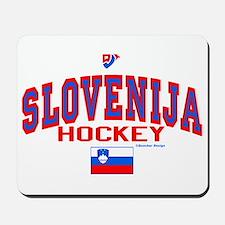 SI Slovenija(Slovenia) Hockey Mousepad