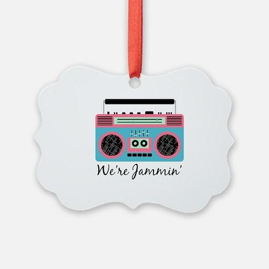 Jammin Boom Box Ornament