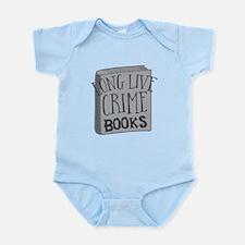 long live CRIME books Body Suit