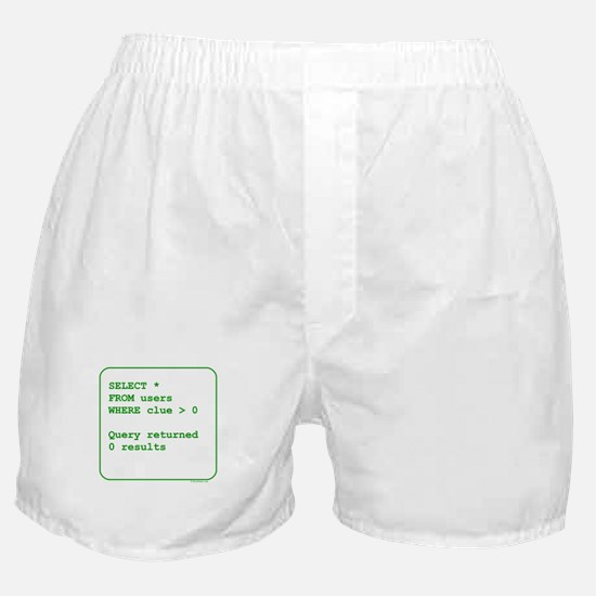 Clueless Users Boxer Shorts