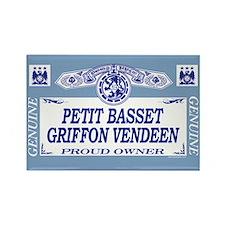 PETIT BASSET GRIFFON VENDEEN Rectangle Magnet