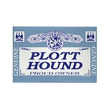 PLOTT HOUND Rectangle Magnet