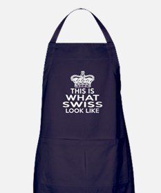 I Am Swiss Apron (dark)