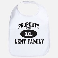 Property of Lent Family Bib