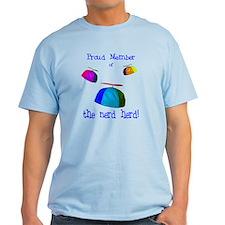 """""""Proud Nerd Herd"""" T-Shirt"""