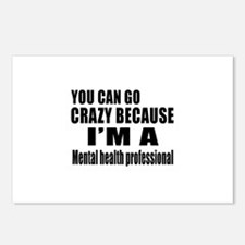 I Am Mental Health Profes Postcards (Package of 8)