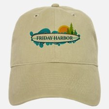 Friday Harbor. Baseball Baseball Cap