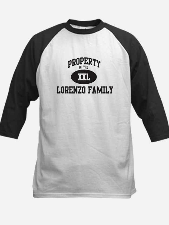 Property of Lorenzo Family Tee