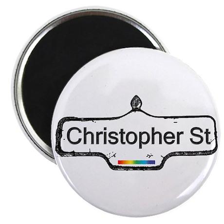 "Christopher St. 2.25"" Magnet (100 pack)"