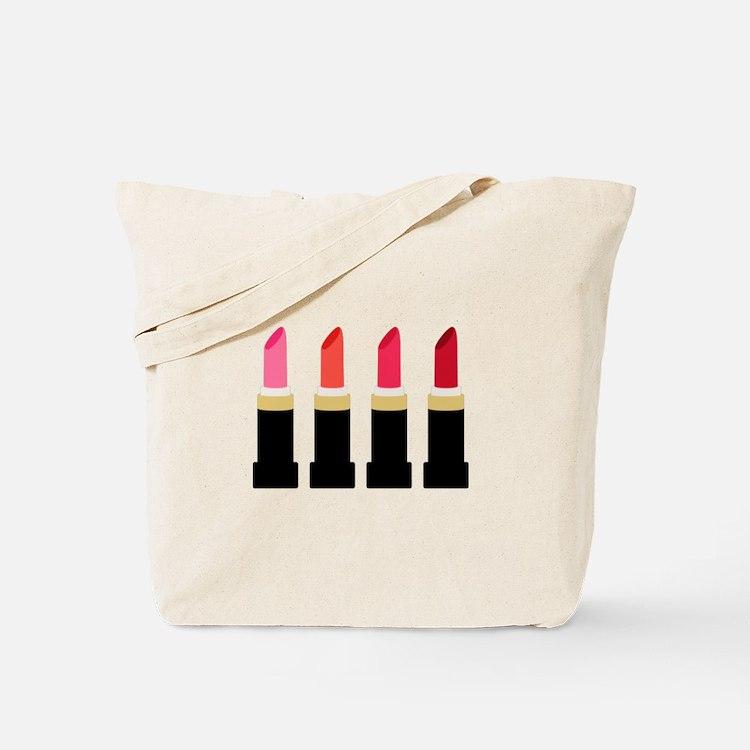 Lipstick Border Tote Bag